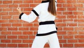 El Tae kwon do se puede practicar en casa tanto como en el dojang.