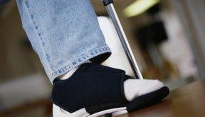 Es posible que puedas realizar ejercicios ligeros con un pie roto.