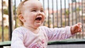 Los bebés de 6 meses tienen un amplio rango de peso sano.