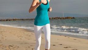 Trotar te puede ayudar a perder de peso.