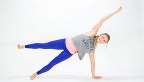 Plancha lateral + Extensión del brazo + Elevación de pierna