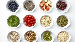 Frutas frescas, secas y cereales son vitales para la recomposición energética.