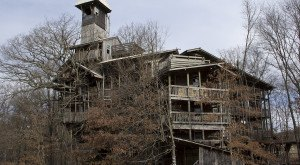 The Inside Of This Huge Tree House in Tennessee Will Blow Your Mind
