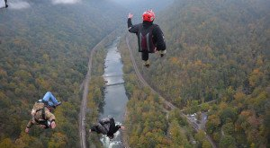 This Video Taken At The New River Gorge Bridge Will Leave You Stunned