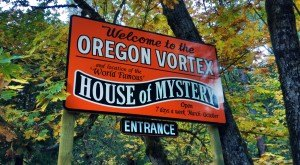 You Will Not Believe Your Eyes When You See What Goes On At The Oregon Vortex