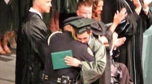 What This Cop Did For A Graduating Teen Who Just Lost His Parents Will Touch Your Heart