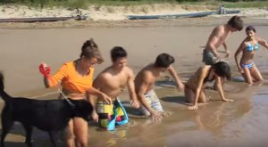 What This Family Discovered In The Sands Of Lake Michigan Is INSANE