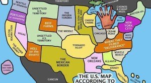 Take A Look At The United States, According to Michiganders