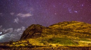 What Was Photographed At Night In Hawaii Is Almost Unbelievable