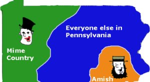 6 Maps Of Pennsylvania That Are Just Too Perfect (And Hilarious)