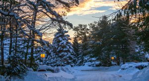 17 Times Snow Transformed Maine Into The Most Beautiful Scenery