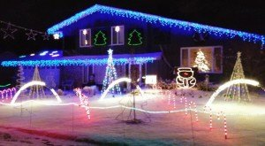 Here Are The 10 Best Christmas Light Displays In Minnesota. They're Magical.