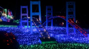 Here Are The 12 Best Christmas Light Displays In Washington. They're Incredible.