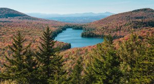 What This Drone Footage Caught In Vermont Will Drop Your Jaw