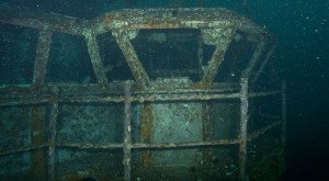 This Sunken Aircraft Carrier That Lives Below Florida's Waters Is Eerily Enchanting