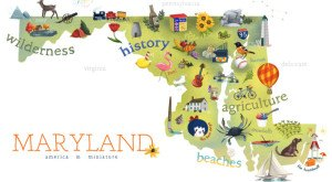 6 Maps Of Maryland That Are Just Too Perfect (And Hilarious)