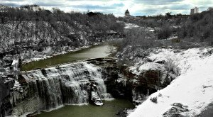 These 10 Waterfalls In New York Have Been Frozen Over Into Winter Wonderlands