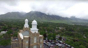 What This Drone Footage Caught in Utah Will Drop Your Jaw