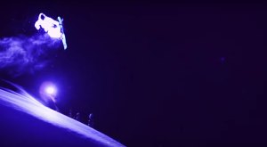 Two Guys In LED Suits Went Night Skiing In Alaska. The Results Were Unbelievable.