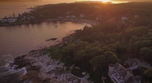What This Drone Footage Caught In Maine Will Drop Your Jaw