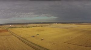 What This Drone Footage Caught In Iowa Will Drop Your Jaw