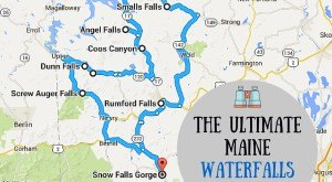 This Waterfall Road Trip in Maine Will Take You To Spectacular Places
