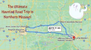 This Haunted Road Trip In Northern Missouri Is Terrifying
