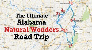 The Ultimate Alabama Natural Wonders Road Trip Is Right Here – And You'll Want To Take It