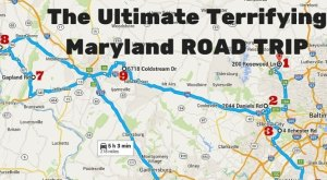 A Terrifying Maryland Road Trip Is Right Here And It's Tons Of Scary Fun