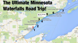 This Minnesota Waterfall Road Trip Is Beyond Beautiful