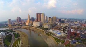 What This Drone Footage Caught In Ohio Will Drop Your Jaw