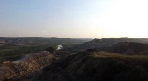 What This Drone Footage Caught In North Dakota Will Drop Your Jaw