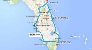 Here's The Ultimate Terrifying Florida Road Trip — And It'll Haunt Your Dreams