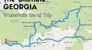 The Ultimate Georgia Waterfalls Road Trip Is Here—And Anyone Can Do It