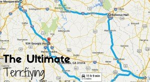 Here's The Ultimate Terrifying Georgia Road Trip — And It'll Haunt Your Dreams