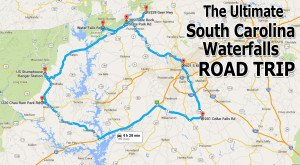 The Ultimate South Carolina Waterfall Road Trip Will Take You To 7 Scenic Spots In The State