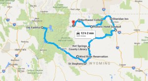 A Terrifying Northwest Wyoming Road Trip Is Right Here And It's A Scary Good Time
