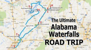 The Ultimate Alabama Waterfalls Road Trip Is Right Here – And You'll Want To Do It