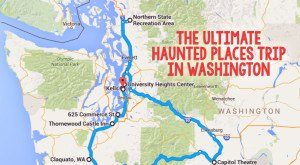 Here's The Ultimate Terrifying Western Washington Road Trip And It'll Haunt Your Dreams