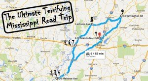 Here's The Ultimate Terrifying Mississippi Road Trip And It'll Haunt Your Dreams