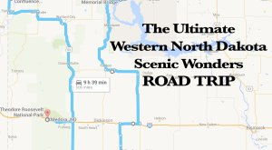 Hit The Highway On A Scenic Road Trip In North Dakota