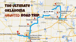 Here's The Ultimate Terrifying Oklahoma Road Trip And It'll Haunt Your Dreams