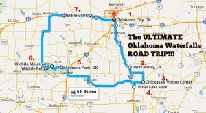 The Ultimate Oklahoma Waterfalls Road Trip Is Right Here – And You'll Want To Do It