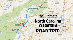 The Ultimate North Carolina Waterfall Road Trip Will Take You To 8 Scenic Spots In The State