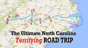 Here's The Ultimate Terrifying North Carolina Road Trip – And It Will Haunt Your Dreams