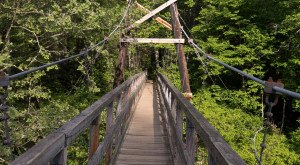 This Terrifying Swinging Bridge In Georgia Will Make Your Stomach Drop