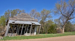 This Lonely Ghost Town in Nebraska is Hauntingly Beautiful
