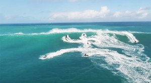 This Drone Footage Of Jet Skis Racing Hawaii Waves Will Drop Your Jaw