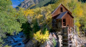 The Remnants Of This Abandoned Mill In Colorado Are Hauntingly Beautiful