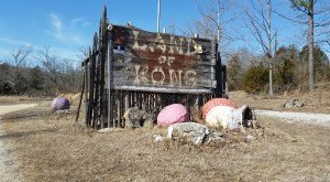 The Remnants Of This Dinosaur-Themed Amusement Park In Arkansas Are Terribly Creepy